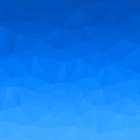 Abstract blue sky polygon background Stock Photo