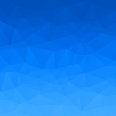 Abstract blue sky polygon background Foto de archivo