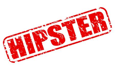 estereotipo: INCONFORMISTA texto del sello rojo sobre blanco Foto de archivo