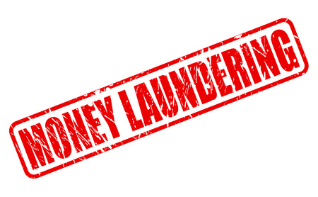 insider trading: MONEY LAUNDERING red stamp text on white