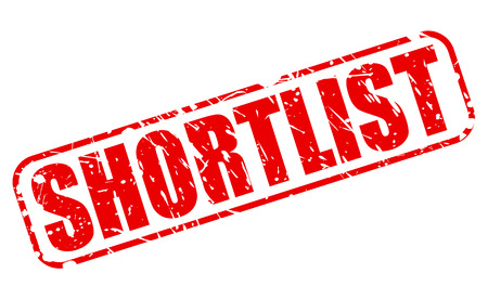 list of successful candidates: SHORTLIST red stamp text on white