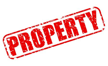 ownership equity: PROPERTY red stamp text on white