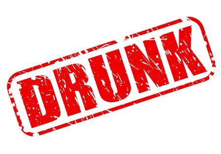underage: DRUNK red stamp text on white