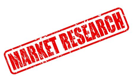 inquiry: MARKET RESEARCH red stamp text on white