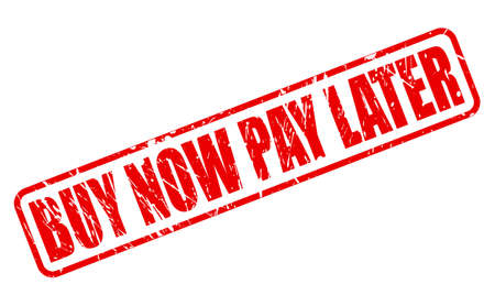 pay: BUY NOW PAY LATER red stamp text on white
