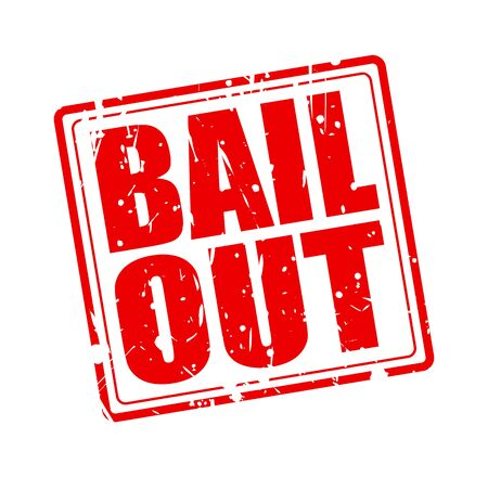 bail: BAIL OUT red stamp text on white