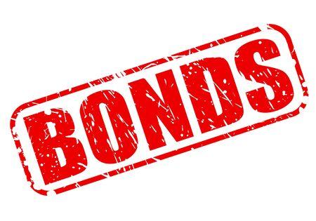bonds: BONDS red stamp text on white