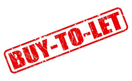 tenancy: BUY-TO-LET red stamp text on white