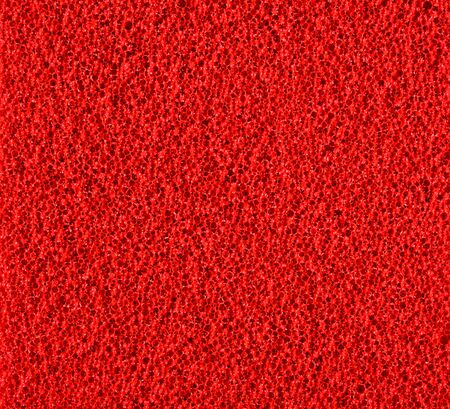 and cellulose: Red texture cellulose foam sponge background Stock Photo