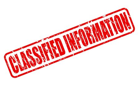 conceal: CLASSIFIED INFORMATION red stamp text on white