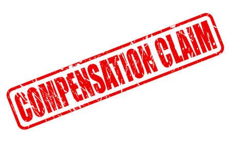 remuneraciÓn: COMPENSACIÓN texto del sello rojo sobre blanco