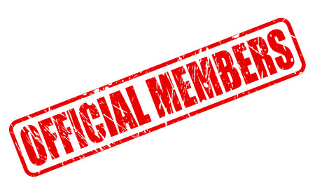 members: OFFICIAL MEMBERS red stamp text on white