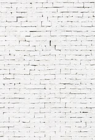 Muro di mattoni bianchi per texture o sfondo