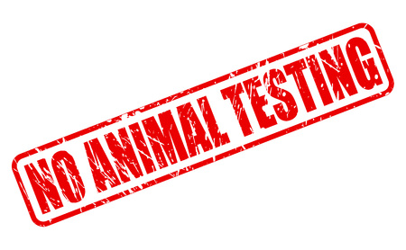 brute: NO ANIMAL TESTING red stamp text on white