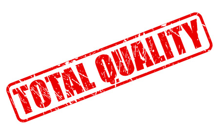 absolute: TOTAL QUALITY red stamp text on white