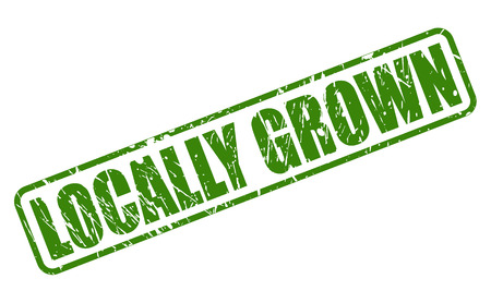 grown: LOCALLY GROWN green stamp text on white
