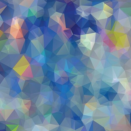 polychromatic: Vector abstract polygon triangulated background