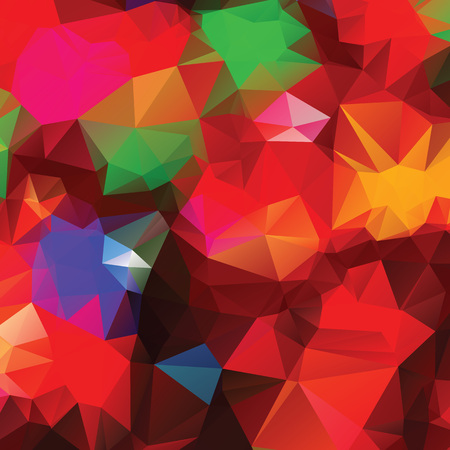 Low poly abstract colorful background