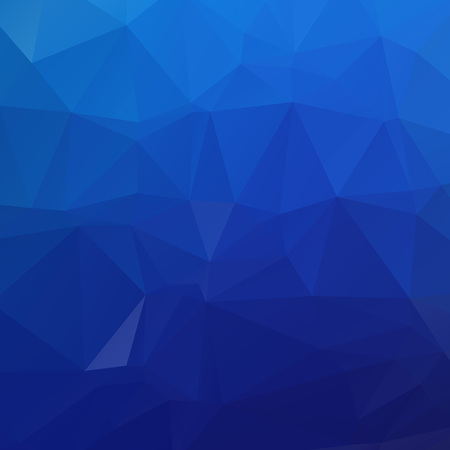 Abstract blue polygon texture background Ilustração