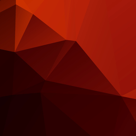 Orange and black polygon background Ilustração