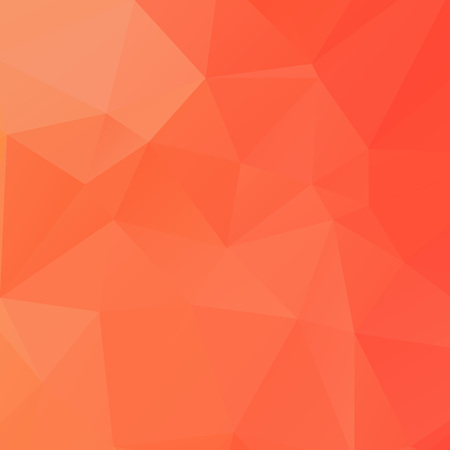 Abstract orange polygon texture background