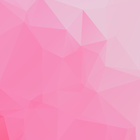 Abstract pink polygon texture background