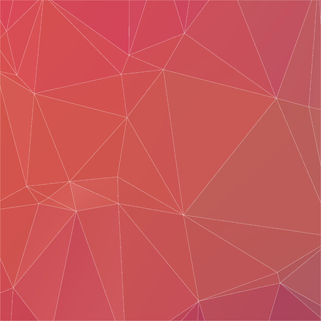 Abstract peach color with white line polygon texture background Ilustração