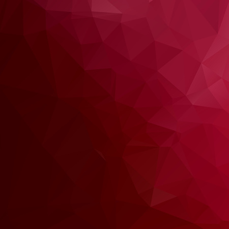 Abstract red polygon texture background Ilustração