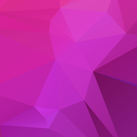 Abstract violet polygon texture background Ilustração
