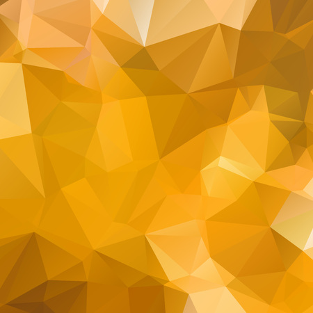 Abstract gold polygon texture background Ilustração
