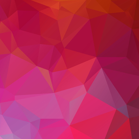 Abstract red and pink polygon texture