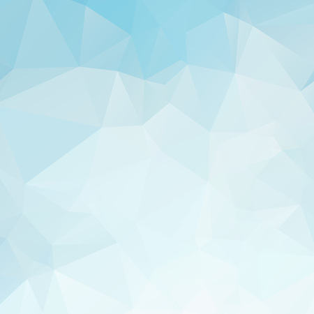 Blue and white polygon texture background Ilustração
