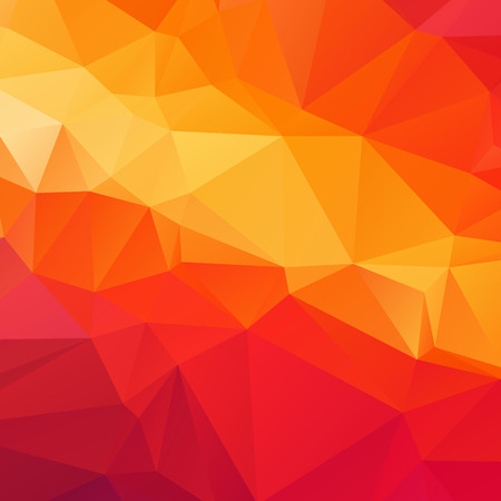 Orange polygon texture background