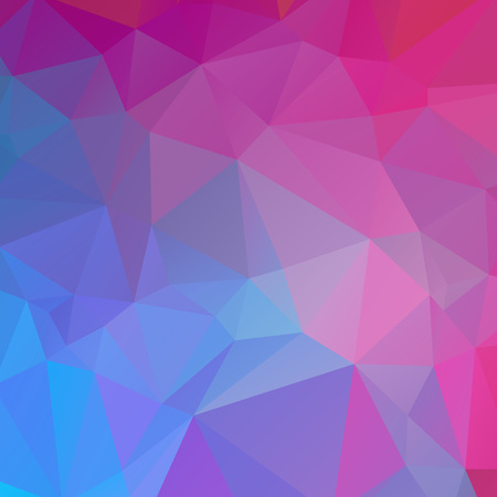 Blue and pink polygon texture background Ilustração