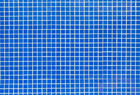Blue mosaic tiles background 版權商用圖片