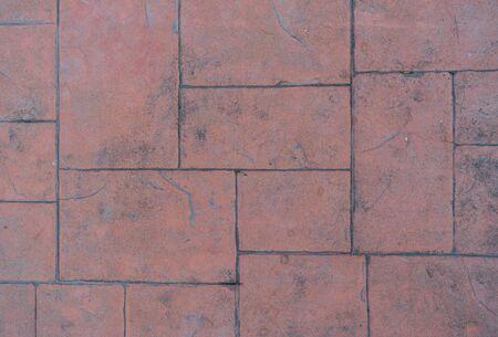 Texture of old grunge brick floor background 版權商用圖片