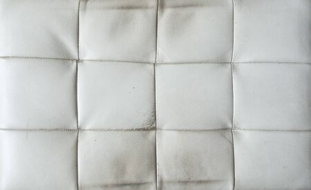 Old white leather texture background
