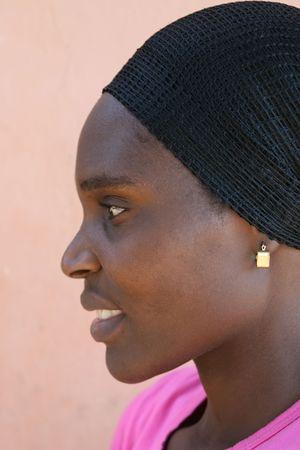 beautiful african woman from Zimbabwe Stock Photo - 661708
