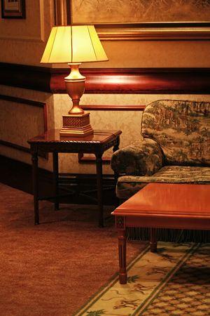 vintage interior design hall passage photo