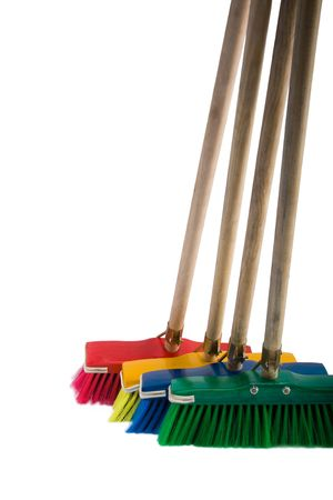 broom handle: Broom elementos de dise�o, multicolor, art�culos del hogar serie