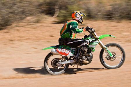 concurs: Bike riders in the Botswana Kalahari Desert Race 1000, sport series