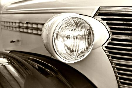 epoch: rumore aggiunto 100ASA, morbido efect, di et� compresa, per un aspetto realistico, vecchie auto 1938, beige, marrone, vista dettagliata, sfondo, il design elemento serie
