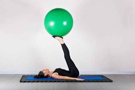 germanic: Balance exercise.Pilates gymnastics is a Germanic evolution of yoga, used by athletes to improve flexibility and body fitness and by chiropractors for patient recovery.