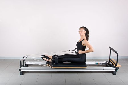 germanic: Rowing exercise.Pilates gymnastics is a Germanic evolution of yoga, used by athletes to improve flexibility and body fitness and by chiropractors for patient recovery.