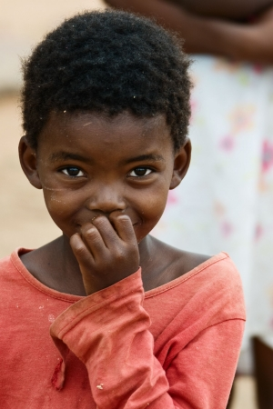 bambini poveri: Bambini africani, le questioni sociali, la povert� Archivio Fotografico