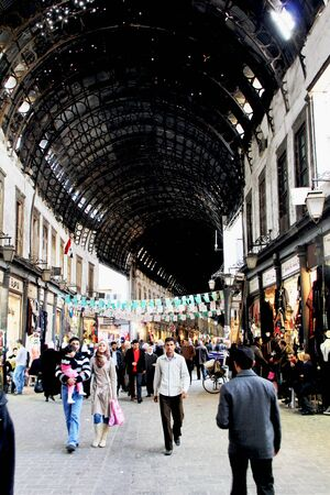 Damascus Syria Grand bazaar