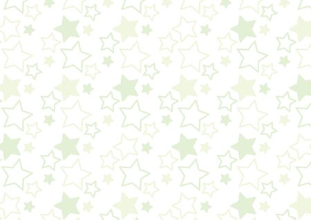It is a background of the illustration of a star pattern.  イラスト・ベクター素材