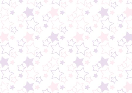 It is a background of the illustration of a star pattern. Illustration