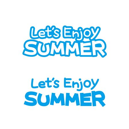 Character of Lets enjoy summer