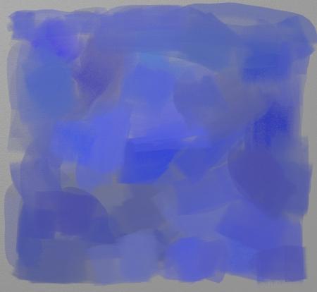 tempera: Blue tempera paint